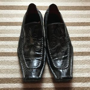 Robert Wayne square toe shoes